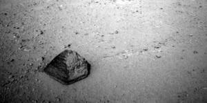 roca piramide Marte